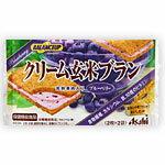 アサヒフードアンドヘルスケア バランスアップ クリーム玄米ブラン ブルーベリー 72g(2枚×2袋)×6コ