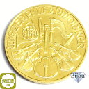 【エントリーでポイント7倍】 オーストリア ウィーン金貨 1/4オンス 硬貨1/4oz コイン 純金 (99.99%) K24 24金中古美品