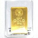 【新品 未開封】TOKURIKI 徳力 純金 インゴット 30g K24 INGOT 送料無料
