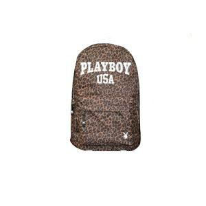 ◆PLAYBOYポリDパック◆ レオパード PLAYBOY デイパッ