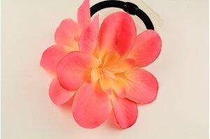 CONフラワーW1721 PK ヘアゴム ゴム 花 造花 フラ