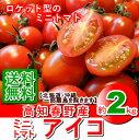 【送料無料】高知産・ミニトマトアイコ約2kg入り・北海道05P03Sep16・沖縄は送料500円ご負担願います。