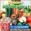 【送料無料】高知四国産野菜セット7品目詰め合わせ北海道1000円沖縄1500円送料ご負担頂きます。
