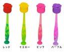 【ローズ/薔薇】歯ブラシ 吸盤付【Flores/フローレス】1本 キャラクター歯ブラシ