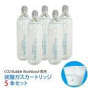 カートリッジ ガスカートリッジ 炭酸洗顔ボウル ガスカートリッジ 5本セット CO2 Bubble Washbowl CO2バブルウォッシュボウル ポータブル 炭酸マイクロバブル 炭酸 洗顔器