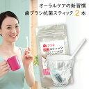 歯ブラシ抗菌スティック2本入 1本で6ヶ月使用可 歯ブラシ除...