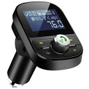 LEHXZJ FMトランスミッター Bluetooth5.0...