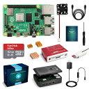LABISTS Raspberry4 4B-32GB(技適マーク入)MicroSDHCカード32G/NOOBSシステムプリインストール/カードリーダ /5.1V/3A Type-C スイッチ付電源/MicroHDMI-to-HDMIケーブルライン/三つヒートシンク/簡単に取り付けケース/日本語取扱説明書/B082VVJCPT