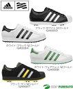 【日本仕様】アディダス スーパースター ゴルフシューズ Q466**[adidas Superstar]【■Ti■】_F23