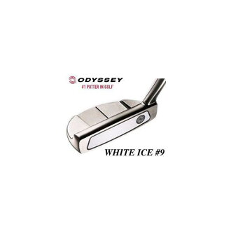 Odyssey white ice # 9 putter
