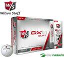 【即納!】ウィルソン DX2 ソフト ゴルフボール 1ダース(12球入)[Wilson Golf SOFT]【あす楽対応】