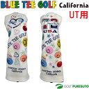 【即納!】ブルーティーゴルフ リミテッド プロダクション ヘッドカバー ユーティリティ用 [BLUE TEE GOLF California Limited P...