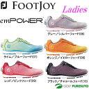 【レディース】フットジョイ ゴルフシューズ エンパワー 980** 日本正規品 スパイクレス[Foot joy empower 女性用 ボア boa]【■Ac■...