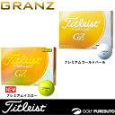 タイトリスト グランゼ ゴルフボール 1ダース(12球入)[Titleist GRANZ]【■Ac■】