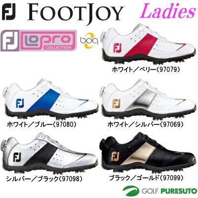 【即納!】【レディース 女性】フットジョイ ゴルフシューズ ロープロスポーツボア 970** 日本正規品[Foot joy LoPro Sports boa 女性用]【あす楽対応】
