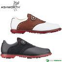 【即納!】【日本仕様】アシュワース キングストン ボア ゴルフシューズ メンズ [Ashworth Kingston boa 靴 EE 2E]