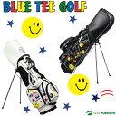 【即納!】ブルーティーゴルフ スタンド式キャディバッグ 9型 BTG-CB002 [BLUE TEE GOLF]【あす楽対応】
