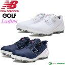 \4日20時〜P10倍★クーポン配布中/【レディース】【日本仕様】ニューバランス スパイクボア ゴルフシューズ WG1000 ウィズ:D New Balance Golf 靴 Boa 女性用