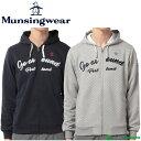 【即納!】マンシングウェア フルジップトレーナー パーカー JWMK555 [Munsingwear 2017年秋冬ウェア 防寒 スウェット]【あす楽対応】