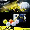 【即納!】ブリヂストンゴルフ TOUR B JGR ゴルフボ...