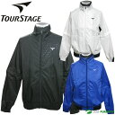 ブリヂストン ツアーステージ 2WAYブルゾン(長袖、半袖)JTM01D