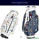 【即納!】トミー ヒルフィガー ゴルフ 8.5型 キャディバッグ ノーティカル スタンド THMG8...