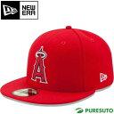 ショッピング野球 ニューエラ キャップ 59FIFTY MLB オンフィールド ロサンゼルス・エンゼルス ゲーム 11449402