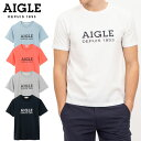 【★最大2000円OFFクーポン★】エーグル DFT AIGLEロゴT半袖 ZTH003C Tシャツ メンズ 吸水速乾 消臭