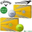 キャロウェイ ウォーバード ゴルフボール 2ダースセット (24球入)2017年モデル
