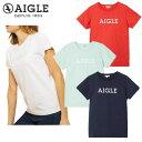【レディース】エーグル AIGLE 吸水速乾 グラフィック ロゴTシャツ ZTF055J