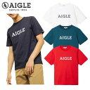 \★先着クーポン配布中★/エーグル AIGLE 吸水速乾 グラフィック ロゴTシャツ ZTH057J メンズ
