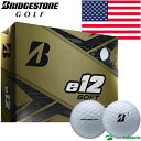 【US仕様】ブリヂストンゴルフ e12 SOFT ゴルフボール 1ダース ソフト