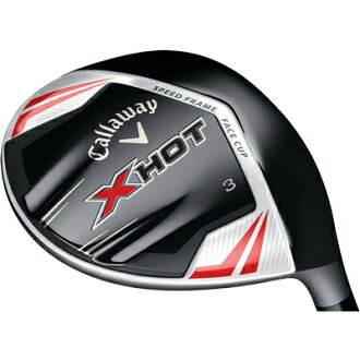 Callaway X HOT fairway wood Project X carbon shaft
