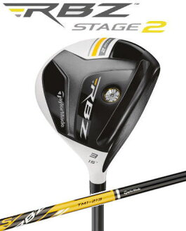 Taylormade Rocket Ballz(RBZ) Stage2 Fairway Wood TM1-213 Graphite Shaft [Japanese Golf Club]