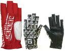 【2008年新製品!】【レディース】MIEKO UESAKOイスモラス柄 左手用指先カットグローブ LS08-9201[2colors][ミエコウエサコ]