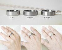 純チタンマリッジリング(金属アレルギー対応チタン結婚指輪)セミオーダー・ペアリングM006定番の平打リング刻印無料ブライダルリング平打リングメンズレディースシンプル肌が弱い大きいサイズアレルギーフリーチタンリングチタン指輪