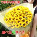 【送料無料】ひまわり・ヒマワリ・花束・向日葵・花束 プレゼント 写真