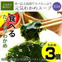 あす楽対応 ぷるるん姫 たっぷりワカメの元気わかめスープ 30食入り 減塩タイプ (ダイエット スープ diet ス−プ)