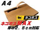 新【10枚】【A4】【厚み2.5cm】ネコポスMAXサイズ 厚み2.5cm対応 メール便ケース 内寸