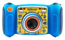 VTech 子供用トイカメラ 新モデル(MicroSD対応) ブルー・ピンク [並行輸入品]