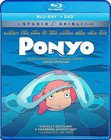 崖の上のポニョ [Blu-ray] ≪北米版≫ (2枚組Blu-ray/DVDコンボ) (オリジナル日本語・英語) 並行輸入