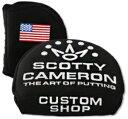 送料無料★スコッティーキャメロン ヘッドカバー カスタムショップ SCOTTYS CUSTOM SHOP 2013 US FLAG NYLON X5/X7 HE...