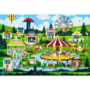 ジェーン ウースター スコット 1000ピース ジグソーパズル にぎわいの遊園地 (49x72cm)(61-373)[ビバリー] t103