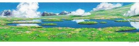 ジブリ ハウルの動く城 950ピース スタジオジブリ背景美術シリーズ ハウルのひみつの庭 …...:puzzle:10002474