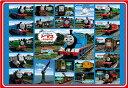 子供向けパズル 幼児 32ピース 子供向けジグソーパズル きかんしゃトーマス図鑑 ピクチュアパズル(26-201)[アポロ社] t110の画像