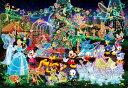ディズニー オールキャラクター 500ピース ジグソーパズル ディズニー マジカルイルミネーション(35x49cm)(D-500-391)[テンヨー] t104