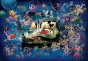 ディズニー ミッキーマウス 500ピース ジグソーパズル ディズニー ミッキーのドリームファンタジー 光るジグソー(35x49cm)(D-500-407)[テン...