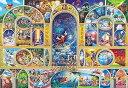 【あす楽】ディズニー オールキャラクター 500ピース ジグソーパズル ステンドアート ディズニーオールキャラクタードリーム ぎゅっとシリーズ(25x36cm)(DSG-500-410)[テンヨー] t104