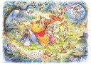 ディズニー くまのプーさん 500ピース ジグソーパズル ディズニー なんとなく しあわせ(35x49cm)(D-500-421)[テンヨー] t102