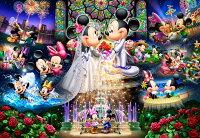 ディズニー ミッキーマウス 500ピース ジグソーパズル ディズニー 永遠の誓い ウェディングドリーム(35x49cm)(D-500-430)[テンヨー] t109
